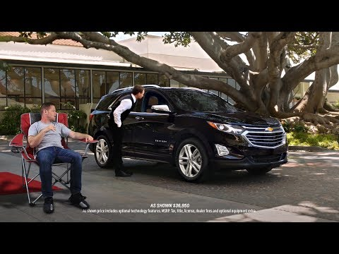 """If """"Real People"""" Commercials were Real Life - Chevy Equinox Valet AD"""