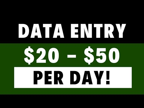 Fiverr Tutorial 1 - Earn Money Easily - Data Entry, Typing, Copy Pasting & PDF to Word or Excel