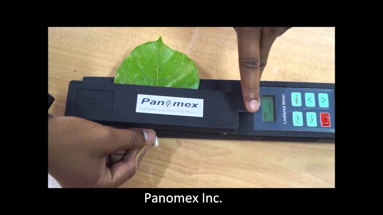 Leaf Area Meter Equipment : Portable leaf area meter youtube