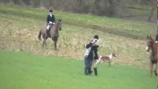 Heythrop Hunt CONVICTED! (Film 1) Fox kill at Peasewell Wood