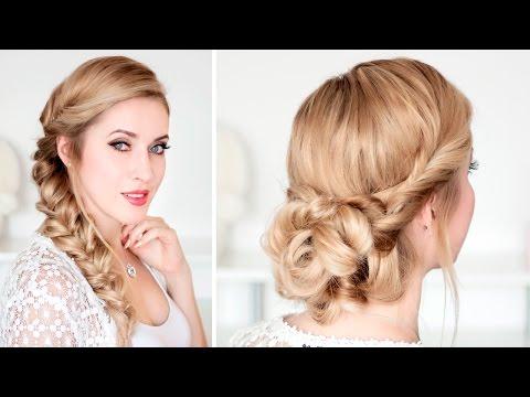 braided-updo-hairstyles-for-christmas-holidays,-new-year-party-★-frisuren-für-lange-haare