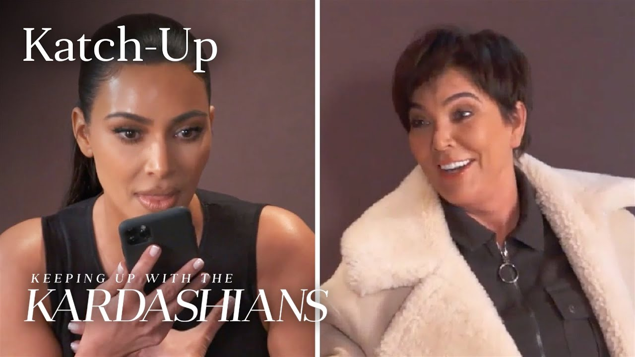 "Kris Jenner Prank Goes Too Far? ""KUWTK"" Katch-Up (S19, Ep2) 