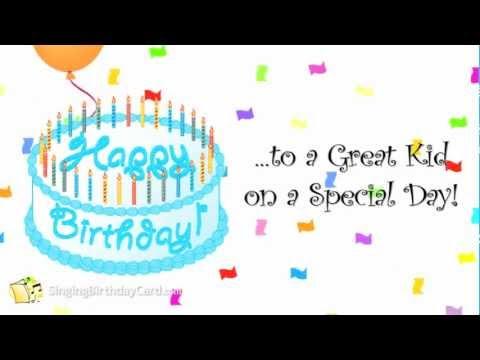 """Aaron's """"Children's"""" Birthday Song"""