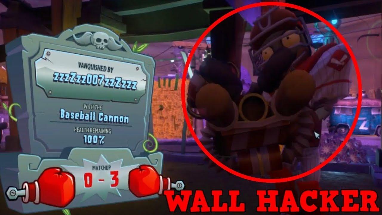 Pvz Garden Warfare 2 Wall Hacker Spotted Plants Vs Zombies Garden Warfare 2 Glitches