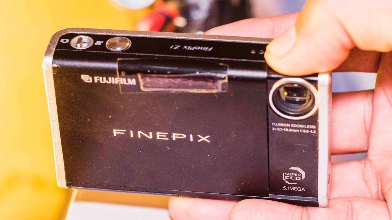 using old digital cameras fujifilm finepix z1 youtube rh youtube com FinePix F100fd
