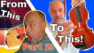Violin Disaster! - Can it be Fixed? - Part 2