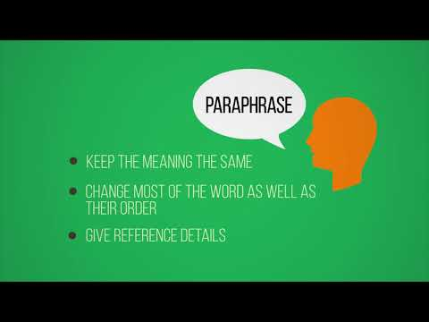 UTS HELPS: How to avoid plagiarism part 2