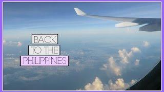 BACK TO THE PHILIPPINES!!   itzalyssaaa
