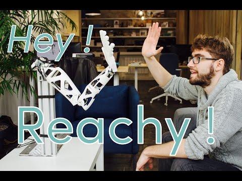 Reachy, the open-source and human like robotic arm, Pollen Robotics #8
