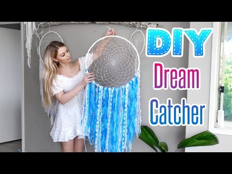 DREAMCATCHER DIY Tutorial | New Weaving Technique | VEGAN