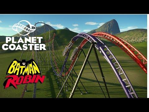 Planet Coaster - Batman And Robin LIM Remake