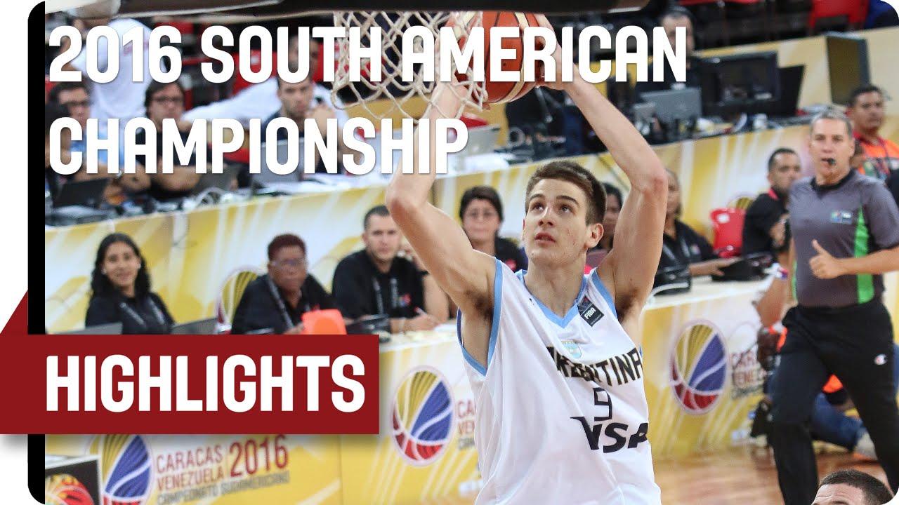 Argentina (ARG) v Chile (CHI) - Game Highlights - Group B - 2016 FIBA South American Championship
