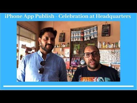 iPhone App Publish - Celebration at Headquarters - Bhola Shola