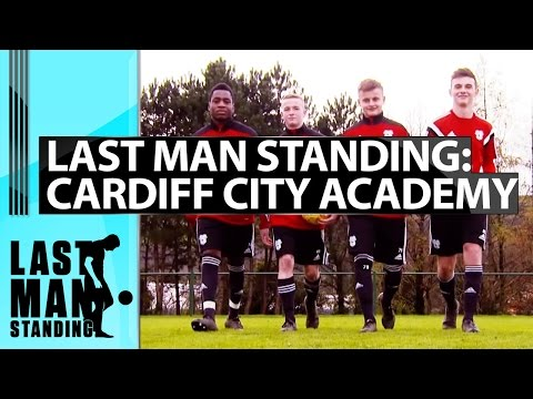 Last Man Standing - Crossbar Challenge with Cardiff City Academy