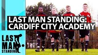 Last Man Standing - Crossbar Challenge with Cardiff City Academy