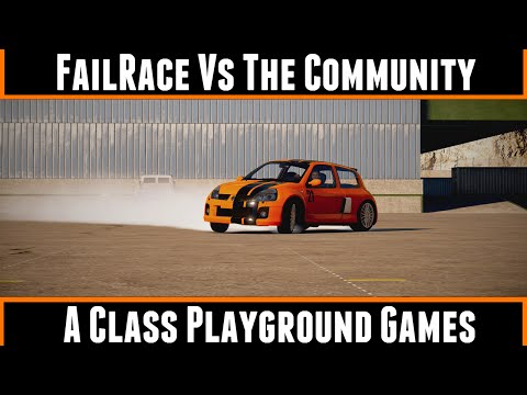 FailRace Vs The Community A Class Playground Games (Forza Horizon 2)