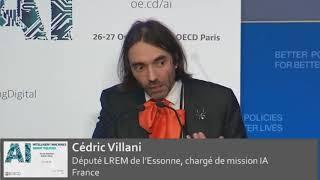 Cedric Villani - Conference on Artificial Intelligence -