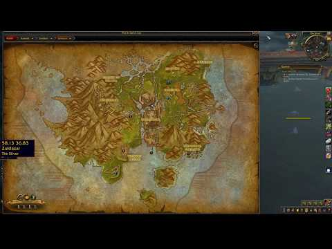 Fishing Trainer Location BfA Horde