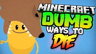 Minecraft DUMB WAYS TO DIE | Random Suicide Booth with TrueMU