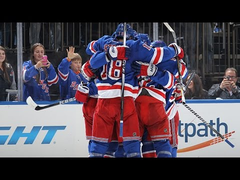 Rangers score five goals in 3rd period comeback win