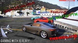 vuclip Lexus LFA Car Meet! FH2 Xbox 360