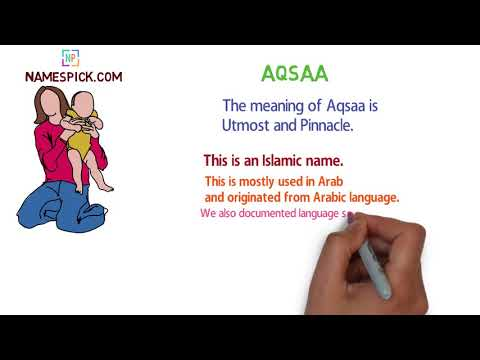 The meaning of Aqsaa