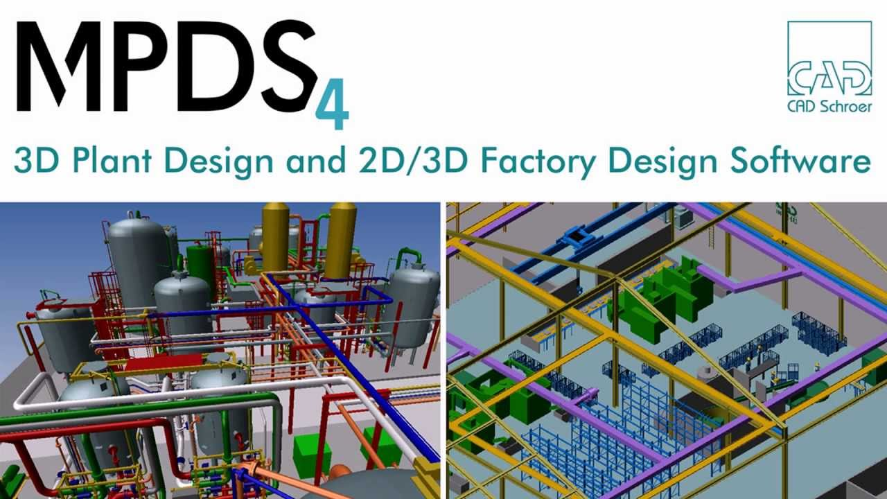 3d Plant Design 2d 3d Factory Design Software Mpds4