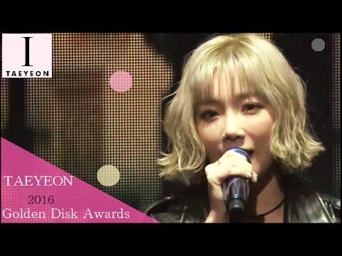 【Full Cut】[1080p] 160120 [SNSD] TAEYEON (MC - Seohyun) - Golden Disk Awards