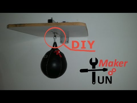 DIY SpeedBag Swivel and Wall Mount Attachment