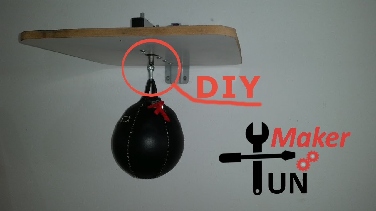Diy Speedbag Swivel And Wall Mount Attachment Youtube