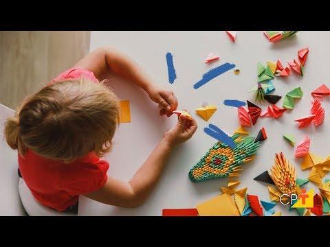 Clique e veja o vídeo Curso a Distância de Origami - Arte da Dobradura de Papéis CPT