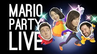 Super Mario Party Live! Mario Party with Outside Xtra and Outside Xbox at EGX 2019