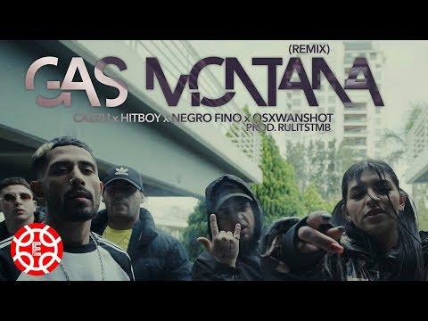 Cazzu x Hitboy x Negro Fino x OSXWanshot  - Gas Montana Remix (Prod  RulitsTMB - Shot by BALLVE)