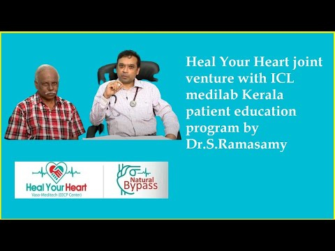 heal your heart joint venture with icl medilab kerala patient education program by dr s ramasamy