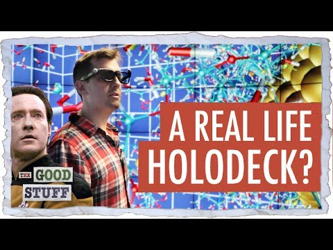 Inside a Real Life Holodeck