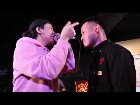 'Hardy vs 輪入道' / ENTER MC BATTLE (2017.10月)