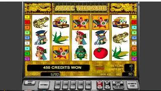 Как выиграть в казино Вулкан. Как обмануть слот Aztec Creasure