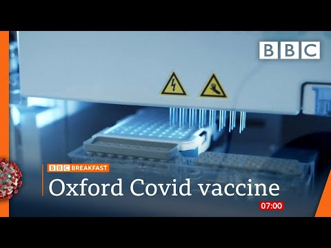 Covid: Oxford vaccine shows 'encouraging' immune response in older adults 🔴 @BBC News live - BBC
