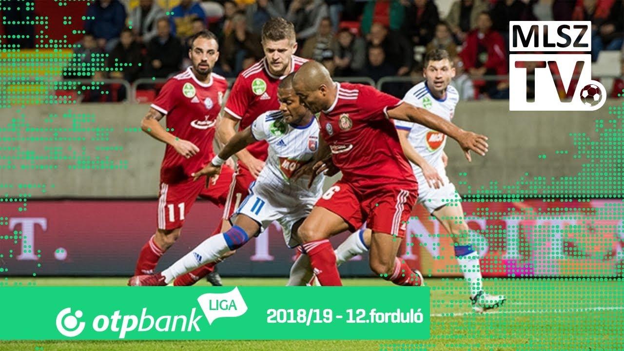 Kisvárda Master Good - Mol Vidi FC | 2-2 (1-2) | OTP Bank Liga | 12. forduló | 2018/2019