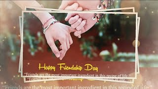 How to make Friendship Day Video | How to Make Video For Best Friend | Happy Friendship Day