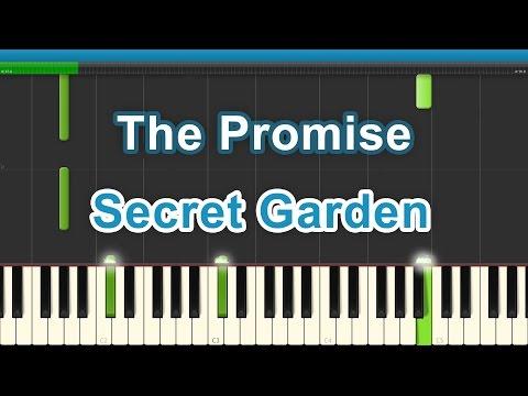 The Promise    Secret Garden   Piano Tutorial   Piano Roll