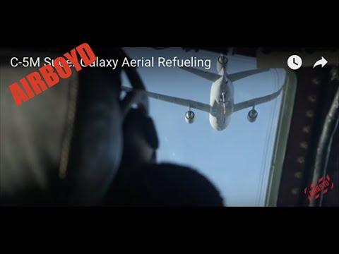 C-5M Super Galaxy Aerial Refueling