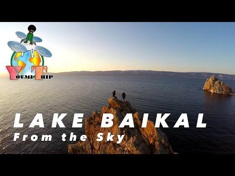 YoumiTrip - Amazing Olkhon Island on Lake Baikal from the sky