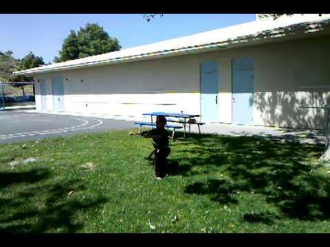 Wushin Martial Arts Joshua Berry at Anaheim Hills Elementary School.