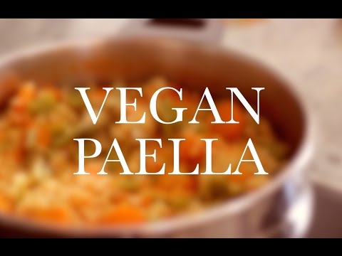 VEGAN PAELLA – fat free, healthy recipe