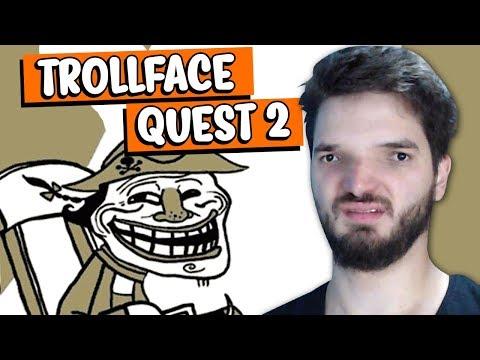 EU JOGUEI O JOGO MAIS ESTRANHO DO MUNDO! - Trollface Quest 2