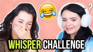WAS hat sie gesagt?! 😂WHISPER CHALLENGE - unlikely 💕