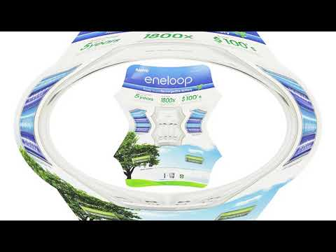 Sanyo Eneloop Ni MH Charger Battery Pack Review
