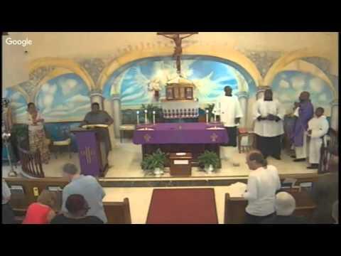 Third Sunday of Lent: February 28, 2016: 9:30 a.m.