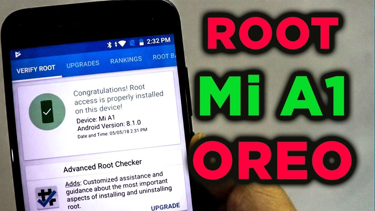 Root Mi A1 Oreo Without Disabling OTA Updates